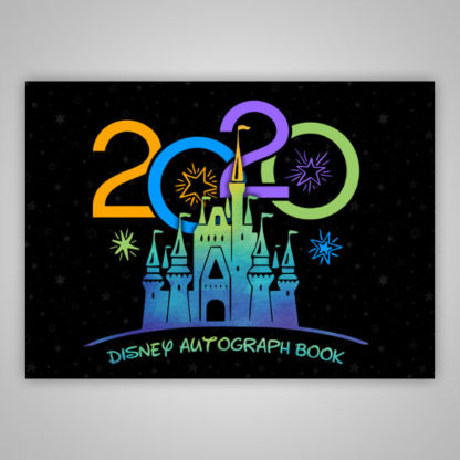 Disney Autograph Book 2020 Black
