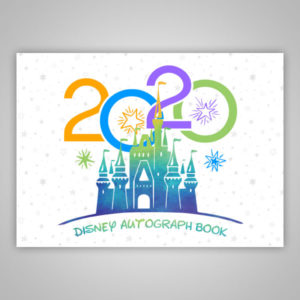 Disney Autograph Book 2020 White