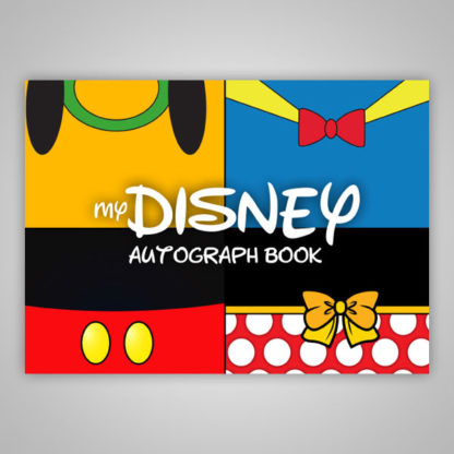 Disney Autograph Book Characters