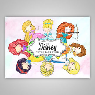 Disney Autograph Book Princesses