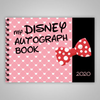 Disney Autograph Book Minnie Mouse 2020
