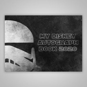 Disney Autograph Book Storm Trooper 2020