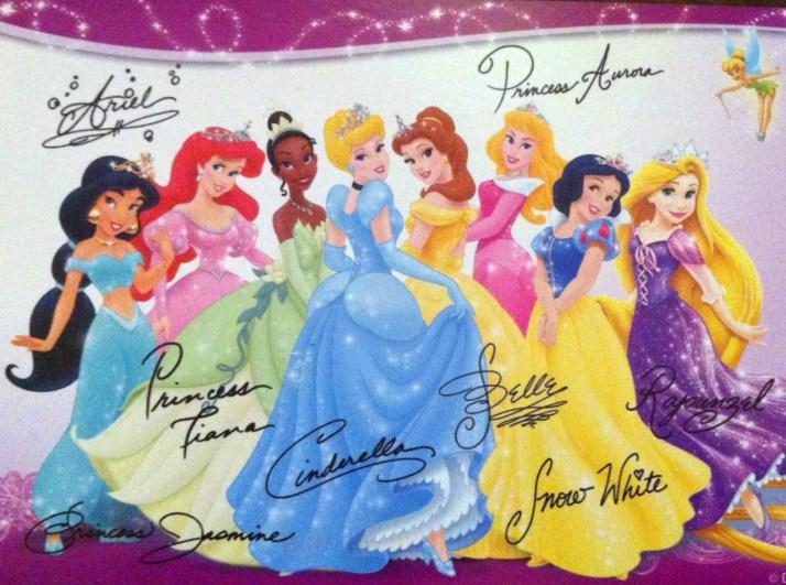 Disney Autograph Postcard